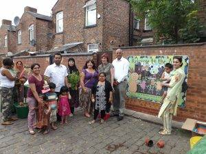 Transforming a neglected alley into a vibrant community space